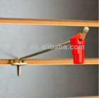 pegboard hook lock/ magnetic key to open
