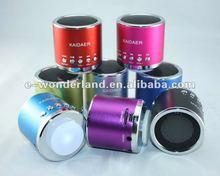 Portable card kaidaer speaker,FM kaidaer speaker,2013 top selling kaidaer speaker mn01r