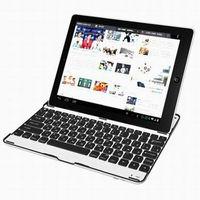 Aluminum Case Bluetooth Wireless Keyboard for Apple the new iPad 2 3 4 KKB007