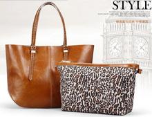 2015 new design genuine leather handbag stock available