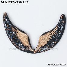 2014 special rhinestone high heels shoes decoration(MWABP-013)