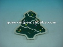 Christmas tree shaped plate,ceramic plate