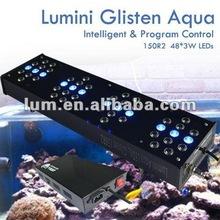 Lumini 100gallon intelligent dimmable aquarium led light150W
