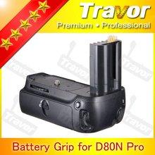 Travor brand new dslr camera accessories mb-d80 for wholesale NIKON d80 battery grip