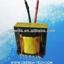 Eer43x15 EER42X15 cinta EI33 EI28 EEL27 EEL25 EE25 de soldadura por arco transformador usado para máquina soldadora