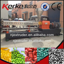 SHJ-75 Low energy consumption twin screw extruder for PE fiber glass