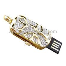 Bulk cheap diamond jewelry hot selling usb flash drive 4g8g16g32gb for women gifts