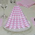 personalizar el diseño de arte impreso de color cena servilleta del tejido