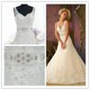 floor length Ivory lace Wedding Dress 2014