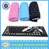 USB Soft Silicone Waterproof Foldable keyboard Flexible Roll Up Keyboard