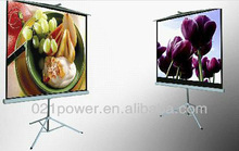 Tripod stand screen/Floor standing projection screen/projector screen, tripod portable projection screen