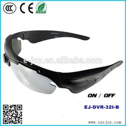 2015 New version EJ-DVR-32I wide degree remote mobile eyewear recorder, camera sunglasses