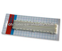 Hot sale! White Solderless Breadboard Protoboard 630 tie-point electronic board for testing