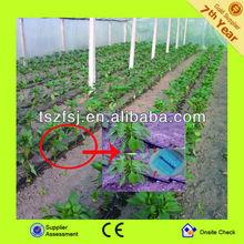 inline round dripper plastic PE drip irrigation pipe