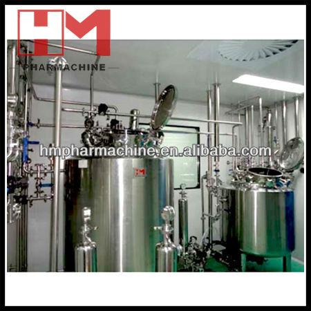 proyecto llave en mano de tratamiento de agua del sistema para la industria farmacéutica