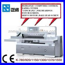 Industrial Guillotine Paper Cutter/ Cutting MachineK1370