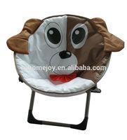 High quality animal design kids moon chair, kids plastic chair, kids folding chair