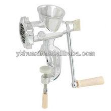 2013 new design hot selling domestic Kitchen zinc alloy meat grinder