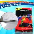 Fábrica de vender directamente rápida- seco rollo de papel fotográfico/a3/a4 rc satinado a4 de papel fotográfico