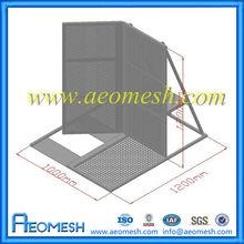 AEOMESH access road barrier gate