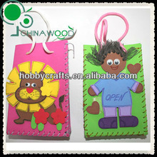 Kid Gifts and crafts EVA bag boy and lion