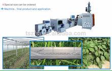melt flow type drip irrigation plastic machines