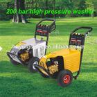 CE 200bar 380V 4 KW mobile automatic car wash machine