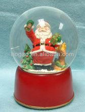 Large christmas snow globe