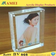 2013 hot plastic acrylic photo frame/nude chinese girls photos