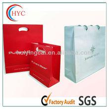 high quality colour paper bag for clothes