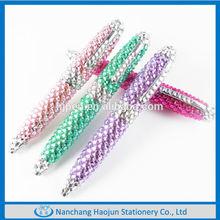 Fancy Small Metal Twist Crystal Cute Ball Pen