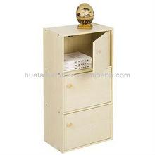 Cheap wood cabinet modern furniture 3 door 3 layer wood filing cabinet furniture