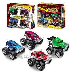 2014 Newest Kids Fashion Big Feet Double Friction Toys Car