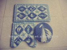 3piece bath mat rug