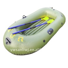 2014 hot sell plastic cheap inflatable fishing boat
