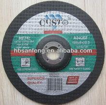 high quality resin bond grinding wheel for ss