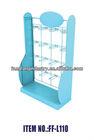 novelty floor steel Display rack Stand with hook metal hanger