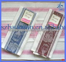 cheap cotton disposable dish cloths / kitchen tea towel in wholesale