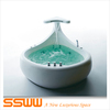SSWW Luxury Whale Massage Bathtub Intelligent