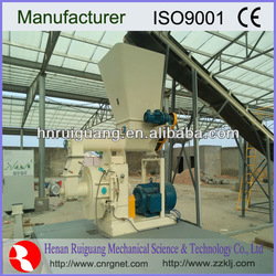 Hot sell 2013 year Ruiguang ISO2008 Ring die wood pellet machine