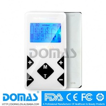 Domas SM9028N AB two independent output NANO Pro Tens massagers with backlight LCD display 8 modes therapy device