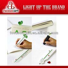 Promotional logo lovely book mark pen