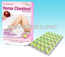 Horse Chestnut Extract & Troxerutin Softgels
