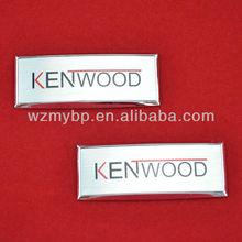 self adhesive labels,metal logo sticker,self adhesive metal plate