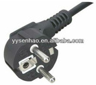 European standard schuko power plug with VDE