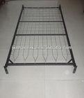 metal spring single bed