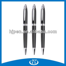 Top Quality Black Dubai Twist Metal Ball Pens