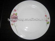 Promotional ceramic salad plate,porcelain plates dishes