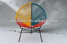 white wrought iron patio furniture (DW-AC052)