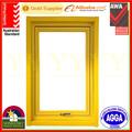 As2047 de aluminio toldo ventana cuarto de baño estándar de australia, moderno diseño de la ventana